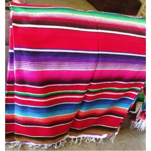 Saltillo Serape Mexican Blankets
