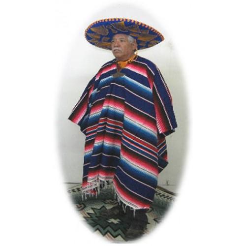 Mexican Saltillo Serape Ponchos